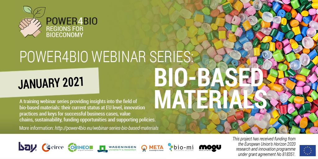 Webinar - Bio-based materials